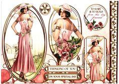 Debbi Moore Designs - Elegant Moments card toppers #6