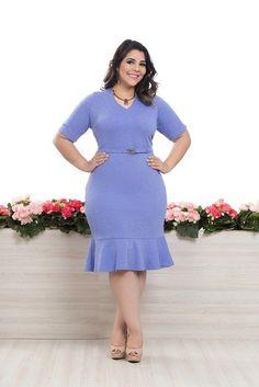 Vestido Ester - Bella Herança - Plus Size