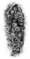 Image result for sugar skull tattoo