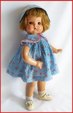 "LOVELY Vintage Effanbee C. 1930's ""PATSY ANN"" Composition Doll 19"" Tall #Effanbee"