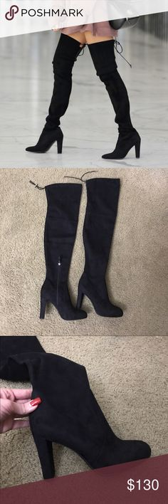 Sam Edelman Kent Suede Thigh High Boots Brand new suede beauties! Gorgeous thigh high boots!  Sam Edelman Shoes Over the Knee Boots