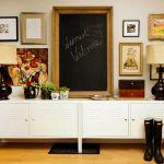 Wohninspiration: Das Ikea PS Sideboard im Schließfach-Look