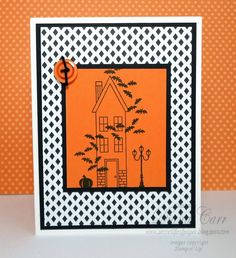 Stampin' Up! Holiday Home Halloween Card