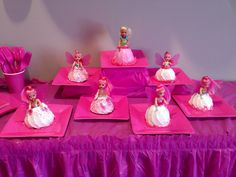 Pink party cake Pink Parties, Party Cakes, Desserts, Food, Home Decor, Celebration Cakes, Homemade Home Decor, Meal, Deserts