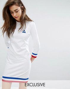e Coq Sportif - Exclusivité ASOS - Robe sweat avec liseré tricolore 51,49 €