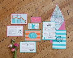 Head Over Heels for Travel Inspired Wedding Details