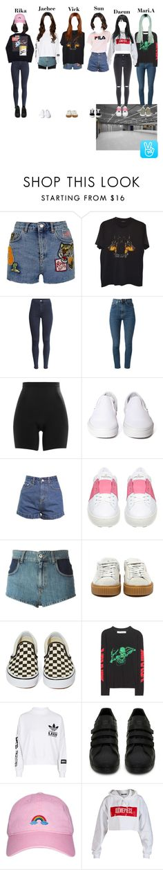 """""""V Live"""" by starz-official ❤ liked on Polyvore featuring Topshop, Givenchy, H&M, Yves Saint Laurent, SPANX, Vans, Valentino, Au Jour Le Jour, Raf Simons and Off-White"""