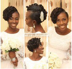Hair: Uniqueberry Hair   www.loveweddingsng.com Bridal Hair Inspiration, Hair Dos, Natural Hair Styles, Fashion, Up Dos, Moda, Fashion Styles, Hair Makeup, Fashion Illustrations