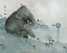 Detail of illustration by Katje Vermeire
