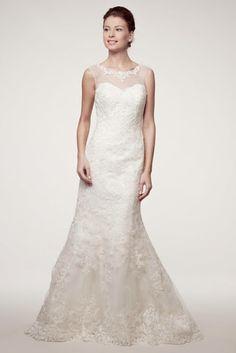 KCW1548 Diamond White Lace Wedding Dress by Kari Chang Eternal
