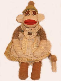 Lady monkey