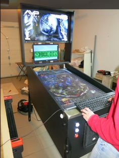 Virtual Pinball Cabinet Build Size And Plans Cut Project