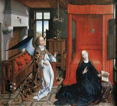 Annunciation 2 by Rogier Van Der Weyden
