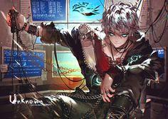 Mystic Messenger- Choi Saeran (Unknown) #Otome #Game #Anime. Susanghan Messenger