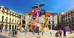 Hoguera Oficial 'Legado' 2016 Artista: Pedro Espadero. #Alicante #Hogueras2016 #Fogueres2016 #MifotoAlicante #CostaBlanca