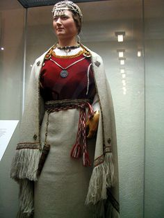 Great ancient Finnish costume