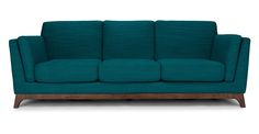 Ceni Lagoon Blue Sofa - Sofas - Article | Modern, Mid-Century and Scandinavian Furniture