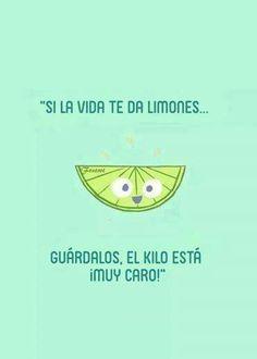 Joke in Spanish - kids would need to know the original idiom to understand this joke (si la vida te da limones, haz limonada). #learning #spanish #kids #learn #spanish #kids