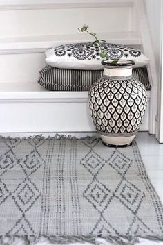 Modern Moroccan Decor - Mixing Prints and Patterns