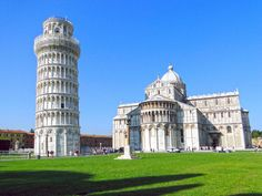 The Leaning Tower of Pisa was not suppose to lean at all! The Leaning Tower of Pisa is the famous tower, in Italy, that began to lean in the year This tower was suppose to be the bell tower. Italy Holiday Destinations, Best Tourist Destinations, Vacation Places, Italy Vacation, Tourist Spots, Dream Vacations, Beautiful Places To Visit, Oh The Places You'll Go, Cool Places To Visit