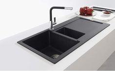 A modern style kitchen sink