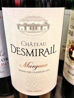 El Alma del Vino.: Château Desmirail Primeur 2012.