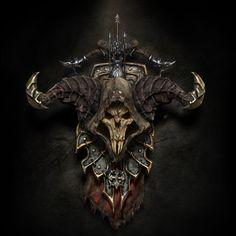 Diablo 3 - Demon hunter shield by Ricardo Luiz Mariano