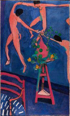 """Henri Matisse - Les Capucines à """"La Danse II"""", 1912 - Musée d'État des Beaux-Arts Pouchkine, Moscou"""