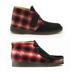 Clarks Originals X Woolrich Boot Collection
