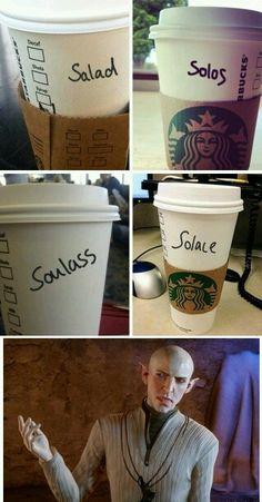 For Andraste's sake Starbucks.