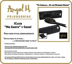 """""""Clica y Gana""""  Un Pack GHD Style complements!"""