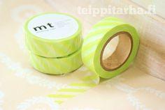 Vinoraita (lime) masking tape