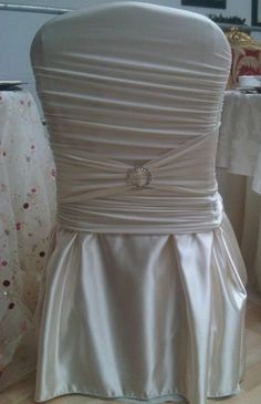 New Chair Cover Style at: www.beautifulchaircovers4u.net