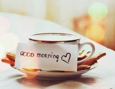 Good morning and thanks to coffee; now I am awake...so now I'll behave ...maybe...