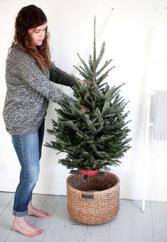 Un Arbol De Navidad Simple Y Acogedor | Cut & Paste – Blog de Moda