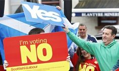 Scottish referendum: World's first vote on economic inequality   http://www.theglobeandmail.com/globe-debate/scottish-referendum-the-worlds-first-vote-on-economic-inequality/article20489038/   When the Scots vote in their historic independence referendum next Thursday, Canadians, especially the Québécois, will be watching closely. Having held two sovereignty referenda, the Québécois may feel that they are the masters in such enterprises and that the Scots are their apprentices. In 1980…