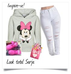 """""""Untitled #1011"""" by august-baee on Polyvore featuring Disney and NIKE"""