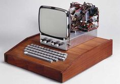 Apple 1, handbuilt by Steve Jobs & Steve Wozniak and went on sale in 1976; only 200 were produced.