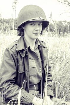 WAC reenactment Women's Army Corps France  Normandy 1944 Korpus Armijny Kobiet USA