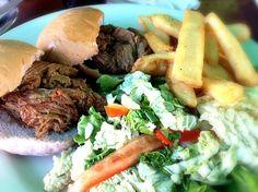レシピとお料理がひらめくSnapDish - 3件のもぐもぐ - Joe's Pulled Pork Sliders @Haleiwa Joe's Seafood Grill by Junya Tanaka