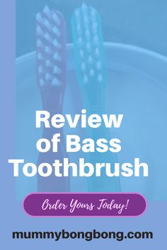 Review of Bass Toothbrush : It has fewer bristles and help to remove bacteria from the teeth and gums. 10 Year Old, Dental Health, Decay, Bass, Teeth, How To Remove, Oral Health, Tooth, Dental