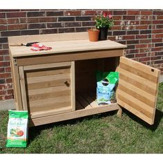 Wood Arbor, Small Patio Design, Maple Shade, Bench Decor, Low Cabinet, Garden Items, Be Natural, Work Surface, Make Arrangements