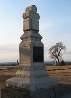 Pennsylvania - 106th Infantry Memorial at Gettysburg Nat'l Military Park in Gettysburg, Pennsylvania by John Walz