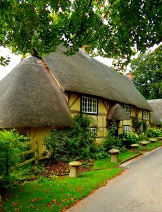 Wherwell, Hampshire, England, UK