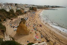 The Algarve – a Different Portugal - via Travel. Experience. Live. 09.08.2013   Bathed in seemingly eternal sunshine, this southern Portuguese region has some of the most beauteous beaches and coastline in all Europe, featuring everything from coral reefs to rugged cliffs. Photo: Albufeira Portugal by jinxsi1960, via Flickr