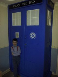 I think we need a TARDIS coat closet!! 11 Pieces of Fantastically Geeky Furniture | Mental Floss