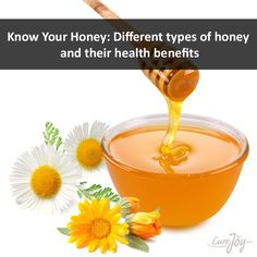 Know Your Honey: Different types of honey and their health benefits ==>