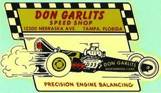 Don Garlits Speed Shop