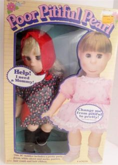 Anyone can love a pretty doll, but we're looking for a home for #PoorPitifulPearl! www.Connectibles.net