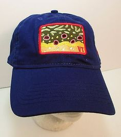 Vermont The Fly Rod Shop Hat Cap Stowe Fishing USA Embroidery New